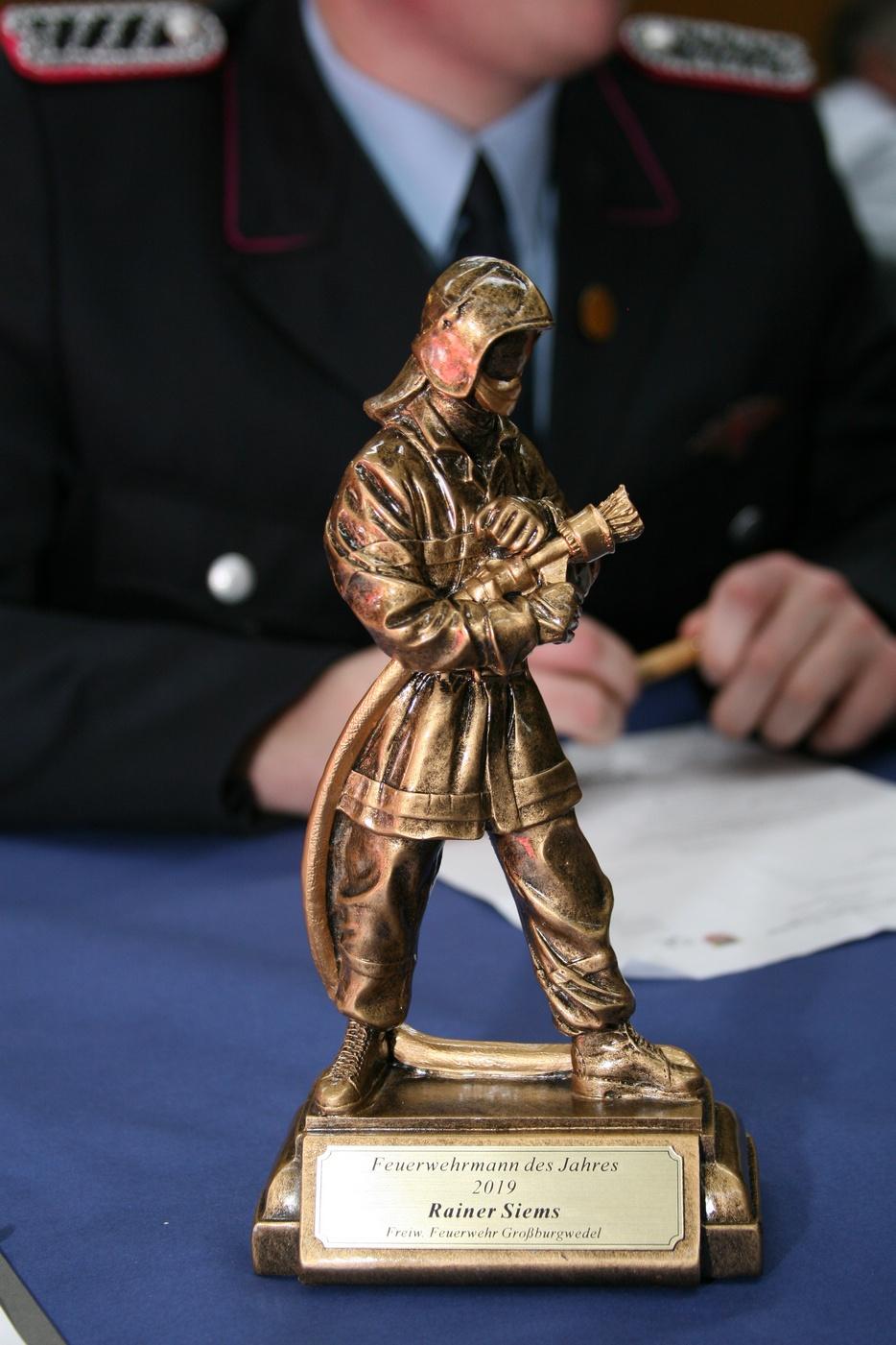Feuerwehrmann-des-Jahres-Auszeichnung