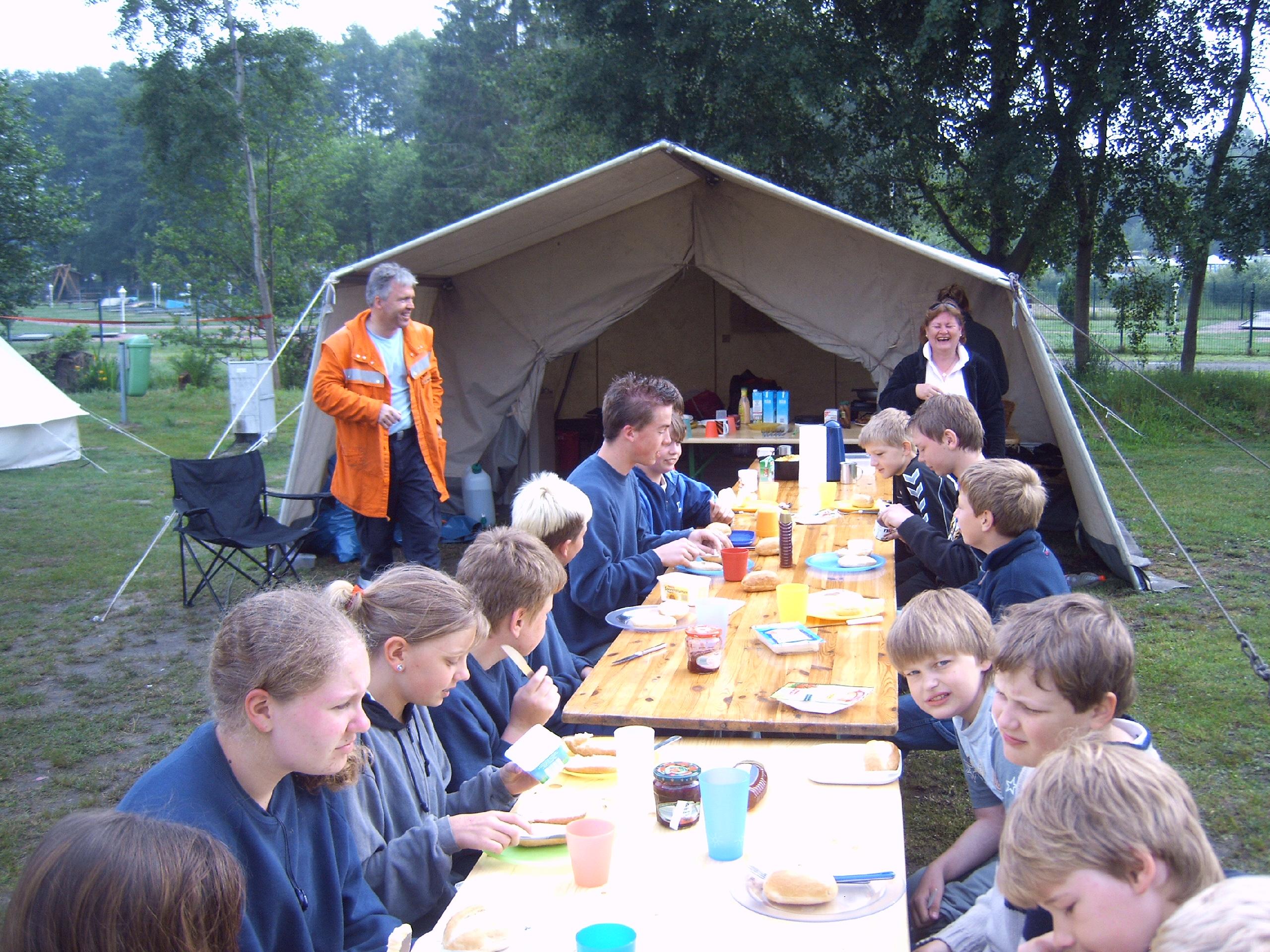 Zeltlager Hüttensee